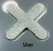 Fugalite Eco ceramizowana spoina fuga  srebrna silver  do mozaiki szkalnej
