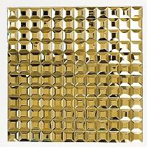 Mozaika Szklana  Diamentowa Złota A113 FUGOWA
