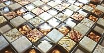 Mozaika Szklano-Kamienna model   AZTEC SuN - COPY