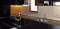 Mozaika szklana Złota GOLD A111/4