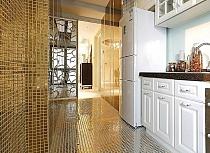 Mozaika Szklana Złota A116
