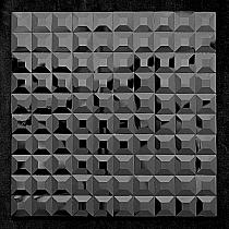 Mozaika Szklana  Diamentowa Czarna A112