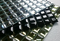 DIAMOND Glass mosaic Black A112