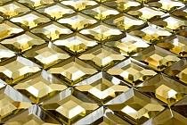 Mozaika Szklana  Diamentowa Złota A113