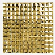 DIAMOND Glass mosaic GOLD A113
