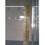 DIAMOND Glass mosaic GOLD A113