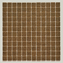 Glass mosaic BROWN B205