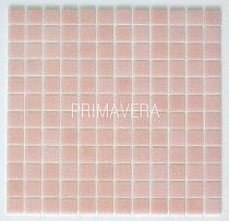 Mozaika szklana  kolor pastelowy Różowy  C073
