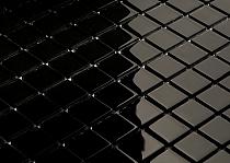 Mozaika Szklana Czarna K01 - Wysoki połysk